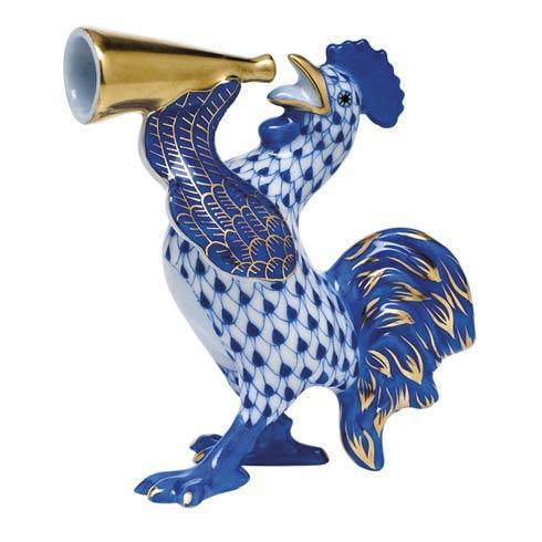 $350.00 Crowing Rooster -  Sapphire