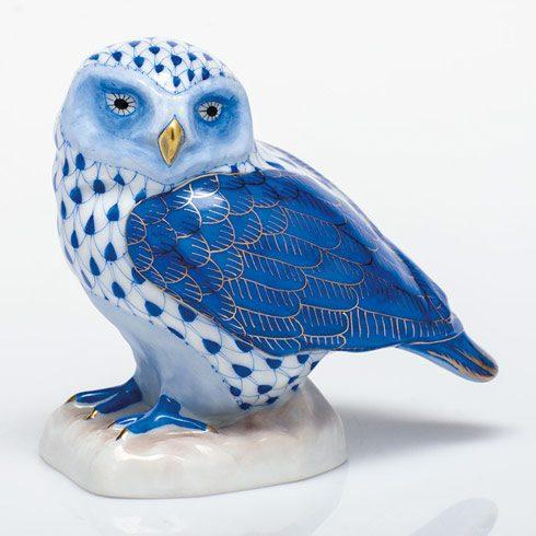 $350.00 Burrowing Owl - Sapphire