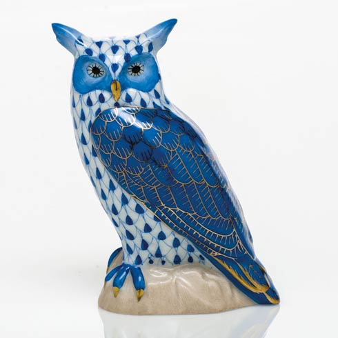 Great Horned Owl - Sapphire