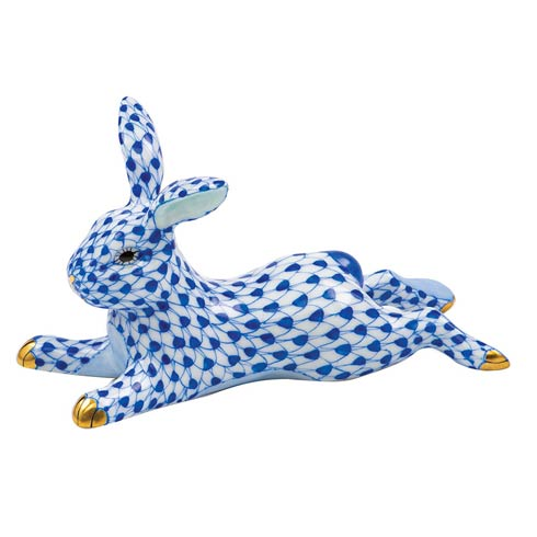 Herend Figurines Bunnies Lounging Bunny $395.00