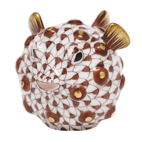 $215.00 Puffer Fish - Chocolate