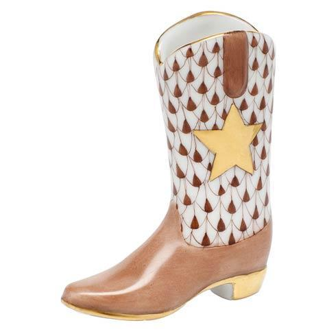 $195.00 Cowboy Boot - Chocolate