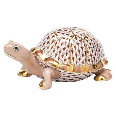 $395.00 Box Turtle - Chocolate