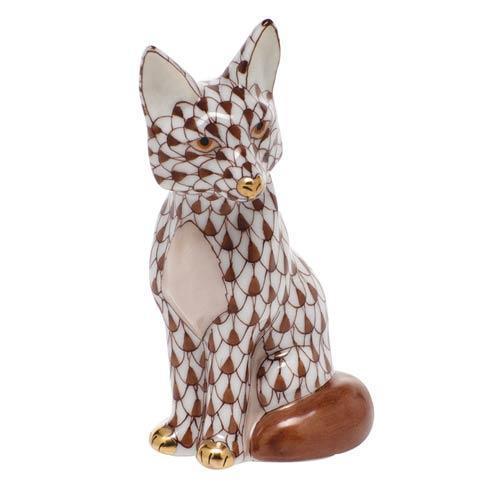 $240.00 Sitting Fox - Chocolate