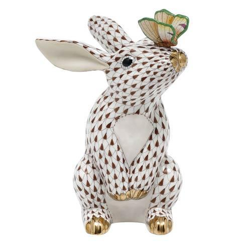 $765.00 Bunny with Butterfly - Chocolate