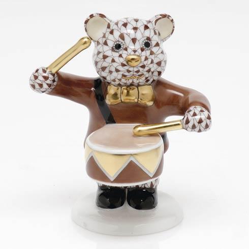 $375.00 Little Drummer Bear - Chocolate