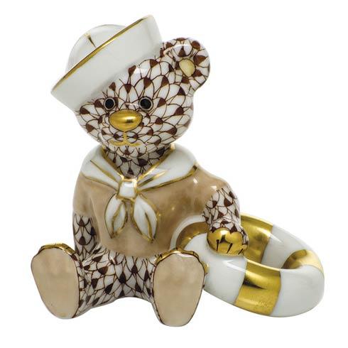 $325.00 Sailor Bear - Chocolate