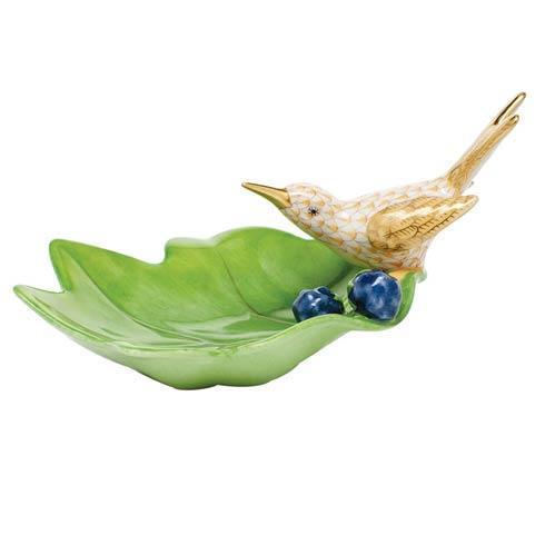 $350.00 Hummingbird on Leaf - Butterscotch