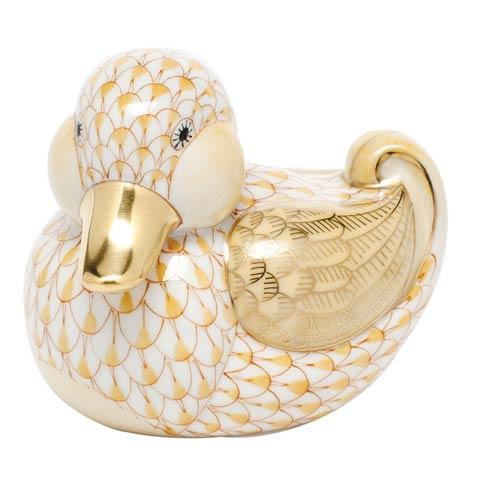 $285.00 Dapper Ducky - Butterscotch