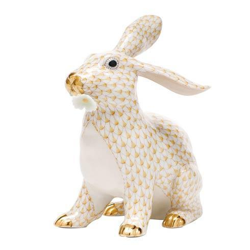$825.00 Bunny with Daisy - Butterscotch