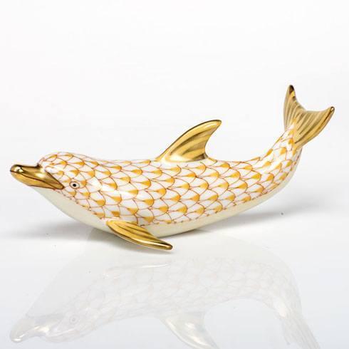 $350.00 Playful Dolphin - Butterscotch