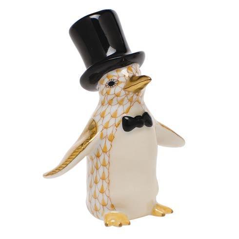 Tuxedo Penguin - Butterscotch