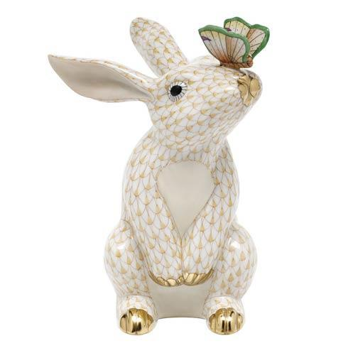 $765.00 Bunny with Butterfly - Butterscotch