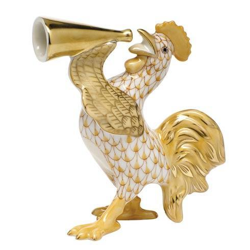 $350.00 Crowing Rooster -  Butterscotch