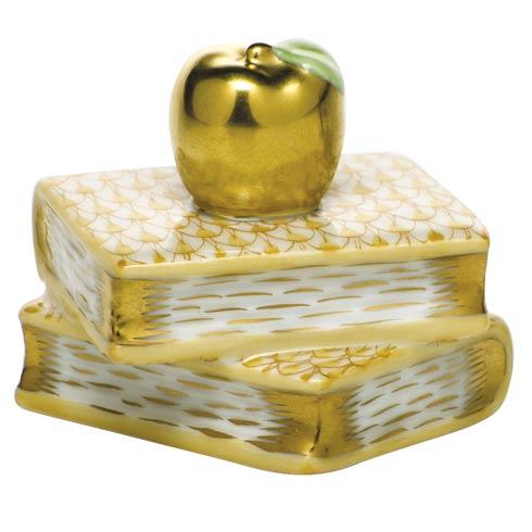 $225.00 Apple on Books - Butterscotch
