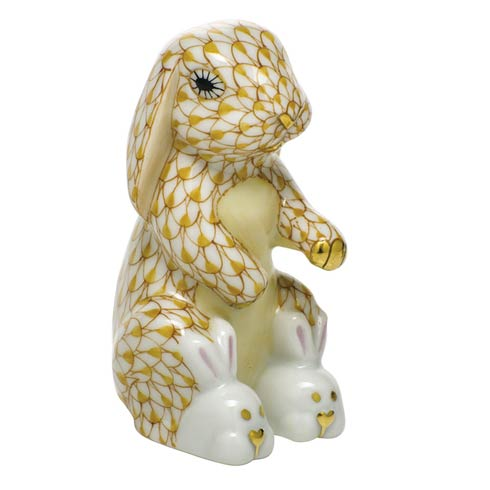 $325.00 Bunny Slippers - Butterscotch