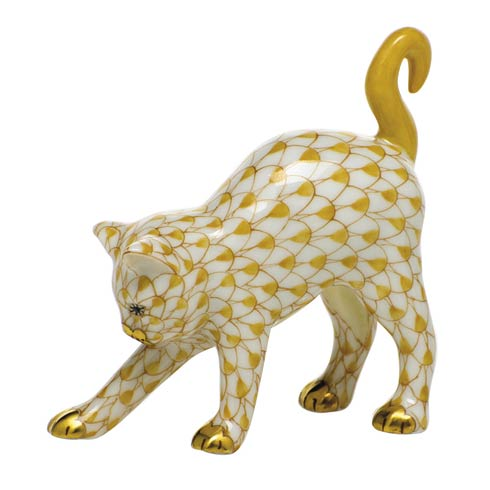 $285.00 Arched Cat-Butterscotch