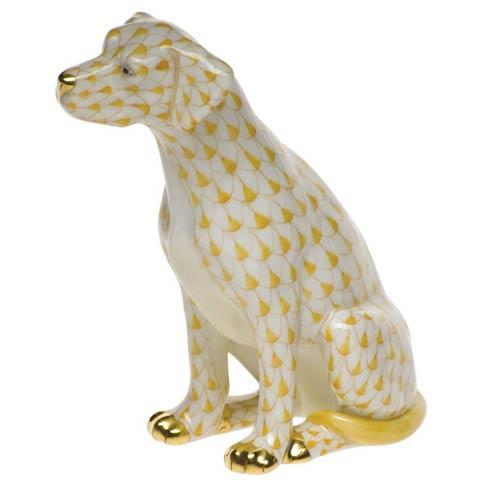 Herend Figurines Dogs Seated Dog $445.00