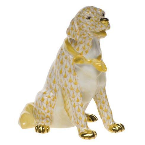 Herend Figurine's Dogs Golden Retriever $550.00