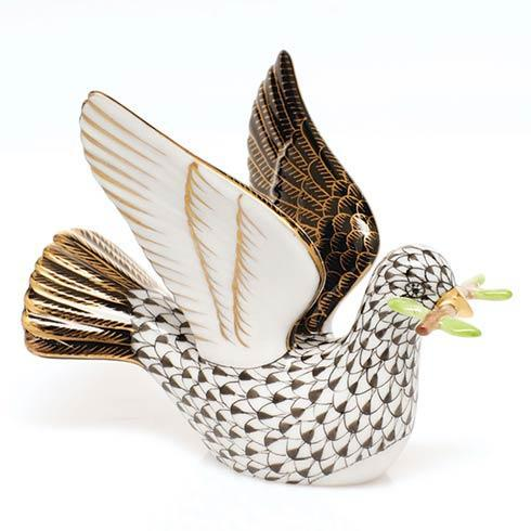 $375.00 Peace Dove with Branch - Black
