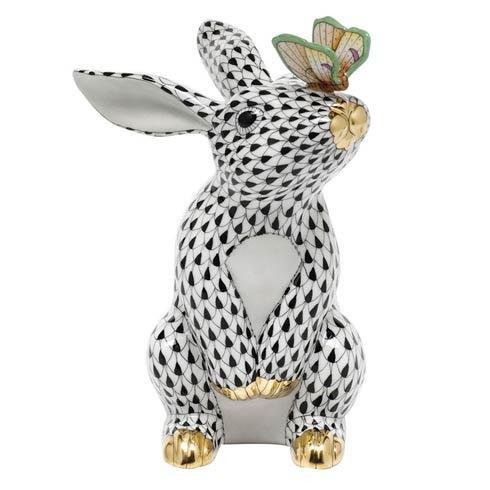 $765.00 Bunny with Butterfly - Black