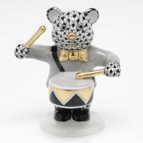 Little Drummer Bear - Black