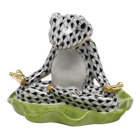Yoga Frog -  Black