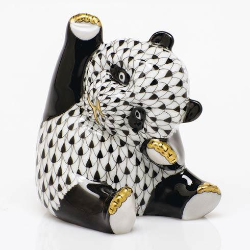$325.00 Playful Panda - Black