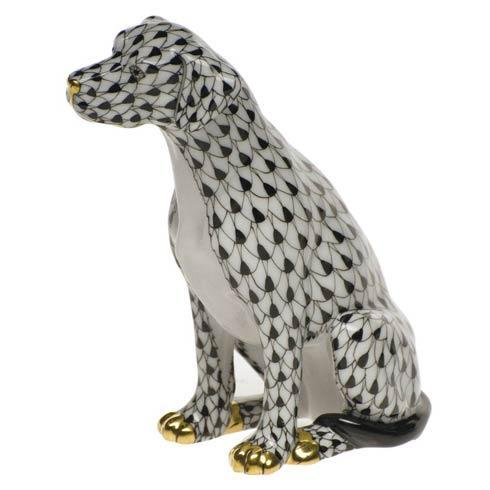 Herend Figurine's Dogs Seated Dog $445.00
