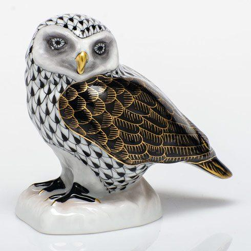 $350.00 Burrowing Owl - Black