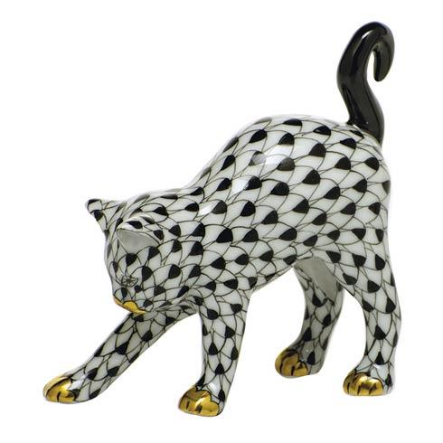 $285.00 Arched Cat-Black