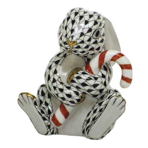$395.00 Candy Cane Bunny-Black