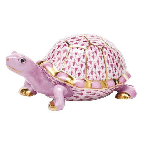 $395.00 Box Turtle - Raspberry