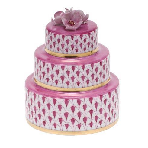 Wedding Cake - Raspberry