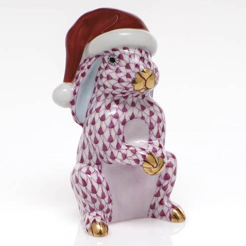 $350.00 Santa Bunny - Raspberry