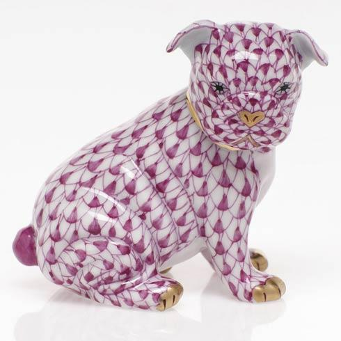 $255.00 Bulldog Puppy - Raspberry