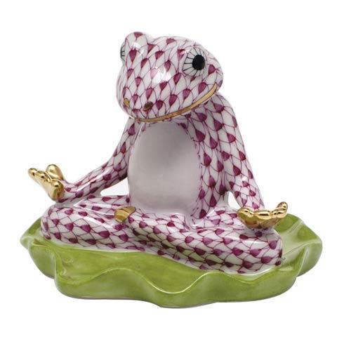 Yoga Frog -  Raspberry