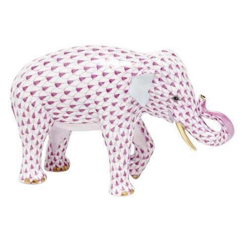 $785.00 Asian Elephant - Raspberry