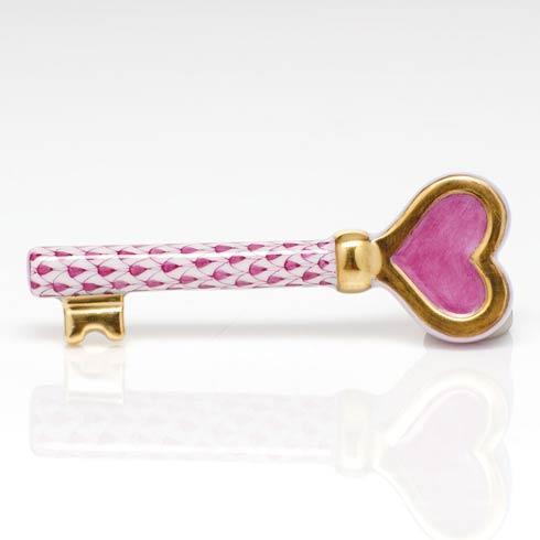 Key to My Heart - Raspberry