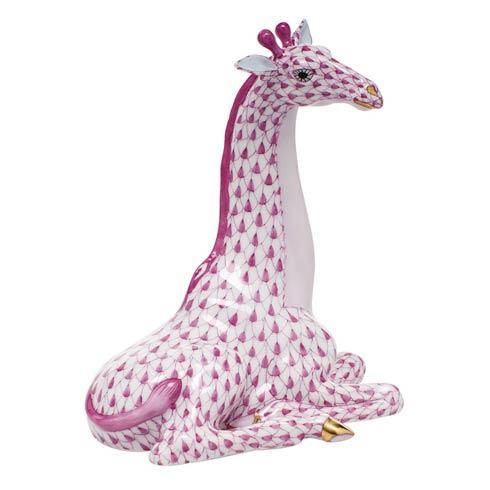 $595.00 Giraffe - Raspberry