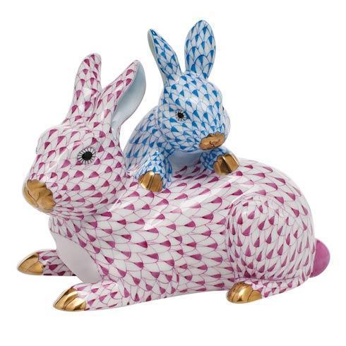 $895.00 Mother & Baby Bunny - Multicolor