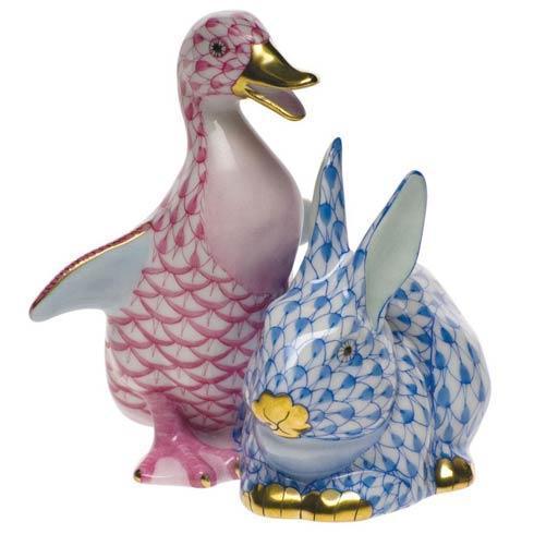 $505.00 Duckling & Bunny - Pnk & Blu
