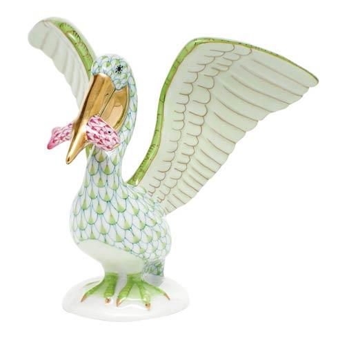 $375.00 Pelican with Fish - Multicolor