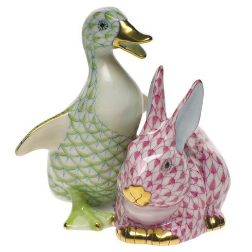 Duckling & Bunny - Lime & Pnk