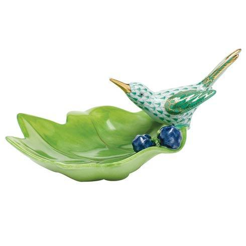 $350.00 Hummingbird on Leaf - Green