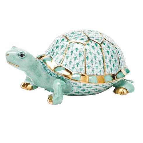 $395.00 Box Turtle - Green