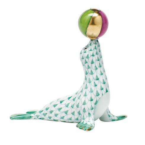 $350.00 Sea Lion with ball - Green