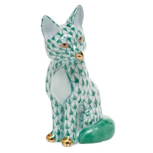 $240.00 Sitting Fox - Green
