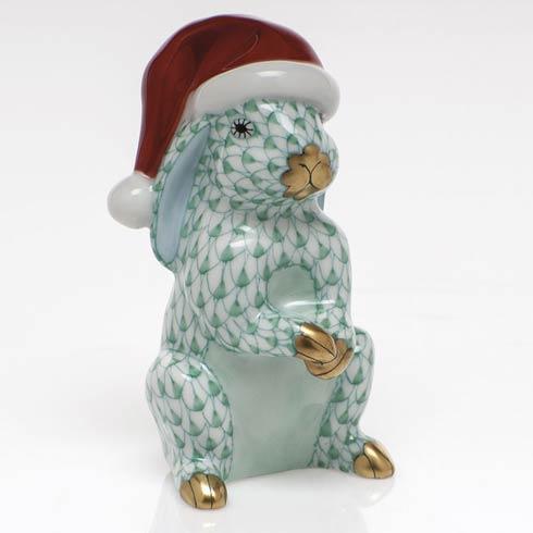 Herend Figurines Bunnies Santa Bunny  $350.00