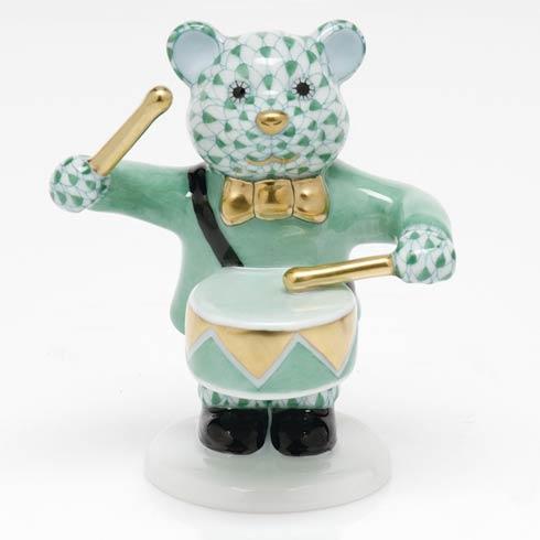 Little Drummer Bear - Green